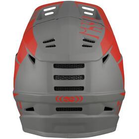 IXS Xact Evo Casque, red/graphite